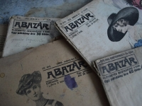Loft design A bazár régi divatlap alten Modezeitschrift old fashion magazine