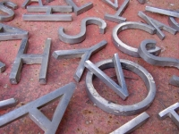 Loft design Alumínium betűk 4
