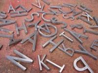 Loft design Alumínium betűk 2