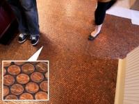 Loft design Újrahasznosított recycled padló floor 1