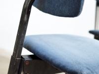 Loft design régi bársony forgószék alt samt Stuhl old velvet swivel chair dolgozószék working chair Büroangestellte ipari industrial industriell shabby chic rusty style artkraft