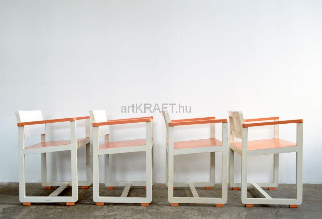 Bauhaus Chair 4 Pcs Artkraft Loftdesign