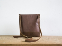 Loft design bag bőr válltáska Leder Umhängetasche leather shoulder bag
