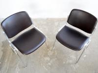 Loft design Castelli design irodaszék dolgozószék working chair chair Giancarlo Piretti Bürostuhl ipari industrial industriell shabby chic rusty style artkraft