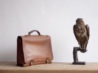 Loft design bag Man Briefcase leather Leder Aktentasche Vintage Retro férfi Aktatáska bőr