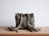 Loft design vintage katonai táska military bag militärbeutel hátizsák backpack rucksack vászon canvas leinwand
