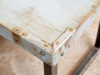 loft design katonai láda dohányzóasztal military crate coffee table Militärkiste Couchtisch ipari industrial industriell shabby chic rusty style artkraft