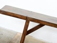 Loft design régi egyszerű fapad simple old wooden bench einfachen alten Holzbank ipari industrial industriell shabby chic rusty style artkraft