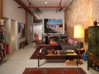 Loft design Építészek loft lakása 1