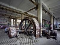 Loft bútor Régi német gyár Berlin