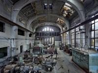 Loft bútor Régi német gyár Eilenburg