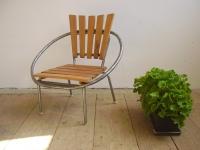 Loft design ipari kerti szék industrial garden chair industrie fabrik Gartenstuhl