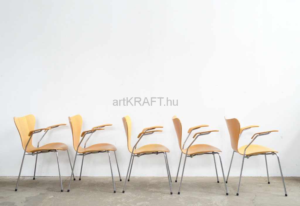 Stuhl Arne Jacobsen original arne jacobsen chairs 7 pcs artkraft loftdesign