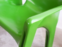 Loft design Gaudi szék Vico Magistretti Gaudi chair sessel Artemide ipari industrial industiell shabby chic rusty style artkraft