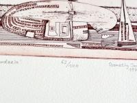 Loft design Hommage á Bartók Hetey Katalin Szemethy Imre szitanyomat rézkarc