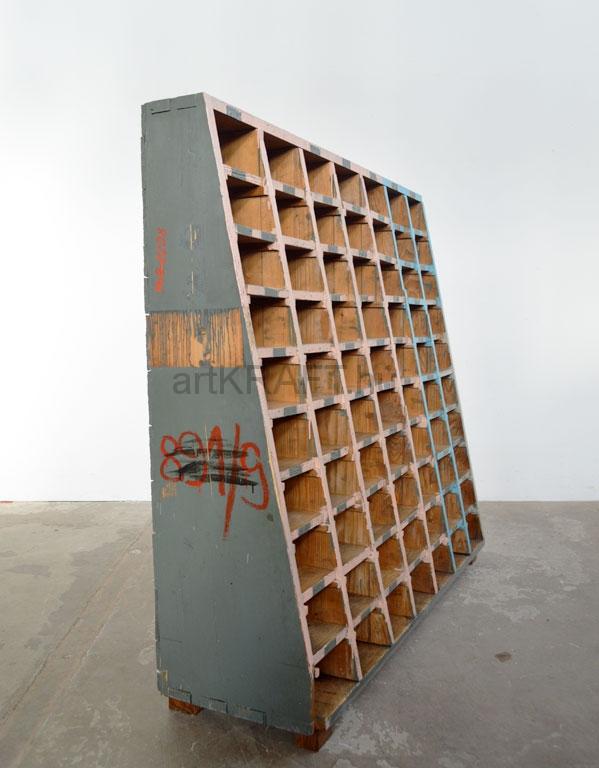 werkstatt schrank mit vielen f chern artkraft loftdesign. Black Bedroom Furniture Sets. Home Design Ideas