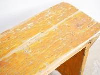 Loft design régi egyszerű fapad simple old wooden bench einfachen alten Holzbank