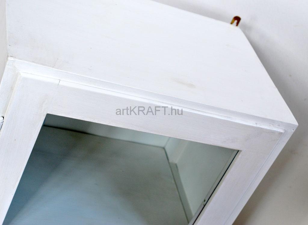 Weiße Wandschränke aus einem Labor (2 St) - artkraft Loftdesign