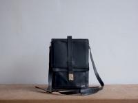 Loft design bag vintage bőr férfi táska leather leder man Schultertasche shoulder bag válltáska