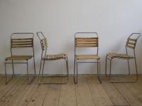Loft design Régi kerti székek vas fa Alten Gartenstuhl old garden chair