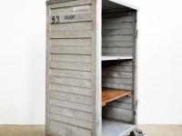 Loft design polcos szekrény könyvespolc bookshelf Bücherregal ipari industrial industriell artkraft