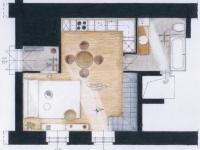 Galériás lakás földszint