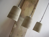Loft design Ipari beton mennyezeti lámpa Industrial concrete ceiling lamp konkrete Deckenleuchte