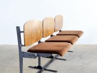 Loft design régi moziszék old cinema chair Alte Kinosessel ipari industrial industriell shabby chic rusty style artkraft