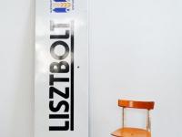 Loft design Régi zománctábla cégtábla Original iron board Originale Werbetafel