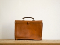 Loft design bag vintage bőr aktatáska vintage leather briefcase Vintage Leder Aktentasche