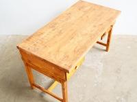 Loft design ipari industrial industriell régi műhelyasztal old workshop table alten Werkstatt Tisch íróasztal writing desk Schreibtisch