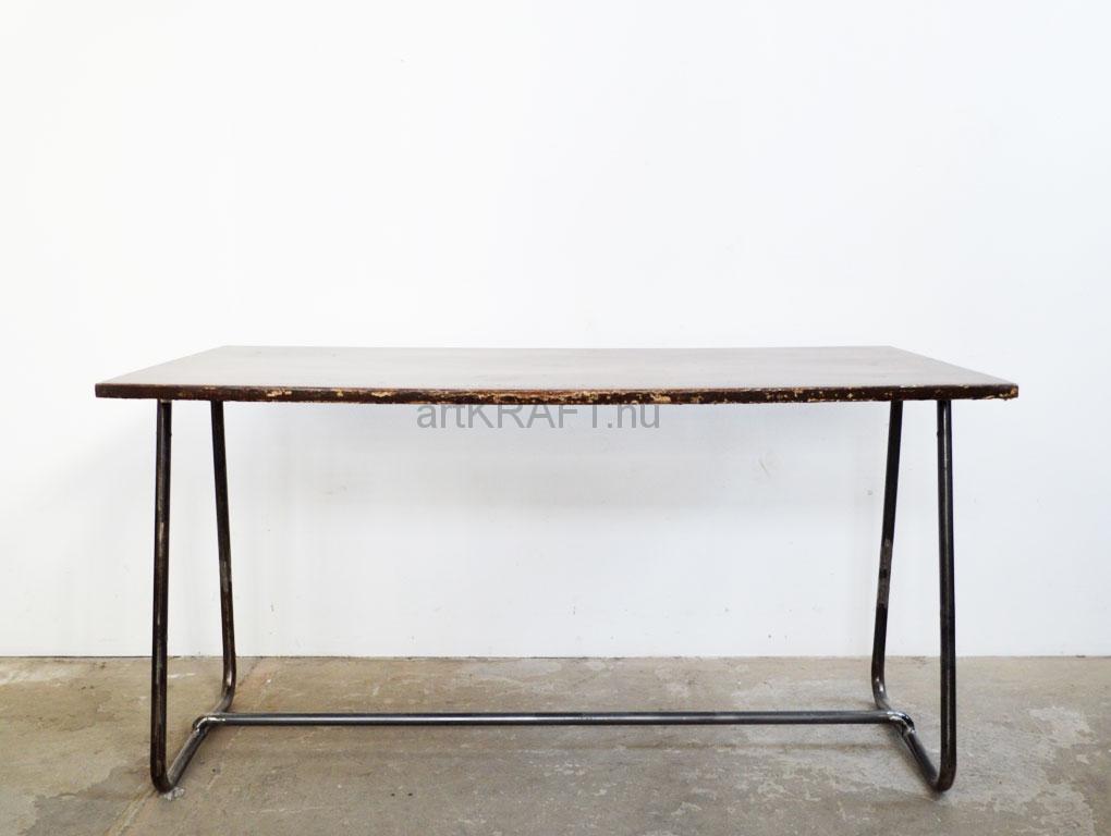 Schreibtisch Industrial curved legged table artkraft loftdesign