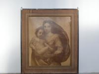 Loft design Jézus-Mária kép Jesus-Mary image Jesus-Maria Bild dekoráció dekoration decoration