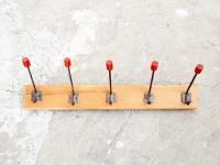 Loft design régi kabátakasztó old coat hanger alten Kleiderbügel kulcsakasztó key hanger Schlüsselanhänger fogas ipari industrial industriell shabby chic rusty style artkraft