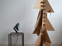 paperboard christmas tree