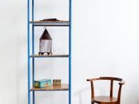 Loft design nagyméretű polc large shelf großes Regal könyvespolc bookshelf Bücherregal