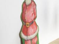 Loft design festett mikulás painted santa claus gemalt Weihnachtsmann téli dekoráció Winterdekorationen winter decorations