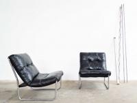 Loft design régi old alte bőrfotel leather armchair Ledersessel ipari industrial indusriell shabby chic rusty style artkraft