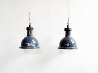 Loft design Ipari harang zománc lámpa Industrial hall lamp Hallenlampen Fabrik Industrie shabby chic rusty style artkraft