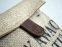 Loft design bag kis válltáska small shoulder bag kleine Umhängetasche zsákvászon táska burlap bag Leinensack