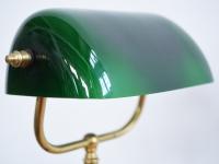 Loft design klasszikus bankárlámpa Classic bankers lamp Klassische Bankerlampe asztali lámpa table lamp Tischleuchte ipari industrial industriell shabby chic rusty style artkraft