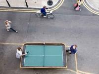 Loft design Konténer újrahasznosítás pingpong asztal 1