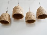 Loft design méhkas mennyezeti lámpa Bienenstock Deckenleuchte beehive ceiling lamp ipari industrial industriell shabby chic rusty style artkraft
