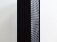 Loft design Régi rolós redőnyös irat szekrény Old cabinet with shutters Alte aktenschrank mit rolltüren