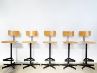 Loft design Magasított szék bárszék Industrial bar stool high chair Industrie Barhocker Hochstühle