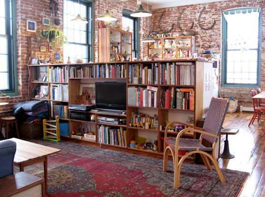 apartment design im industriellen stil loft, mill loft - artkraft loftdesign, Design ideen