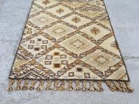 Loft design Régi kézi csomózású marokkói szőnyeg Moroccan Beni Ourain rug wool carpet Marokkanischen Beni OURAIN Teppich Wollteppich