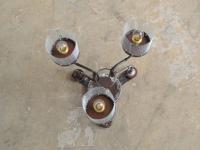 loft design Mennyezeti lámpa régi amerikánerek Deckenlampe alten Handbohrern Ceiling lamp old hand drills