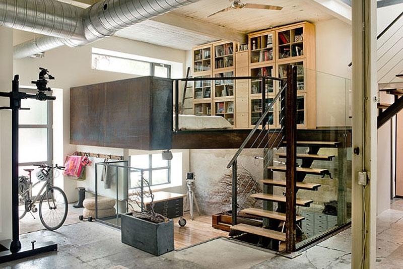 Loft Design habitation and photo studio in a warehouse | artkraft loftdesign