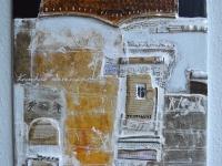Tamás Ajtai A múlt jövője contemporary art loft decoration industrial decoration kortárs művészet ipari dekoráció kollázs collage Collage